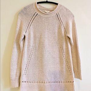 J.CREW Classic Roll-neck Sweater XXS Blush Pink